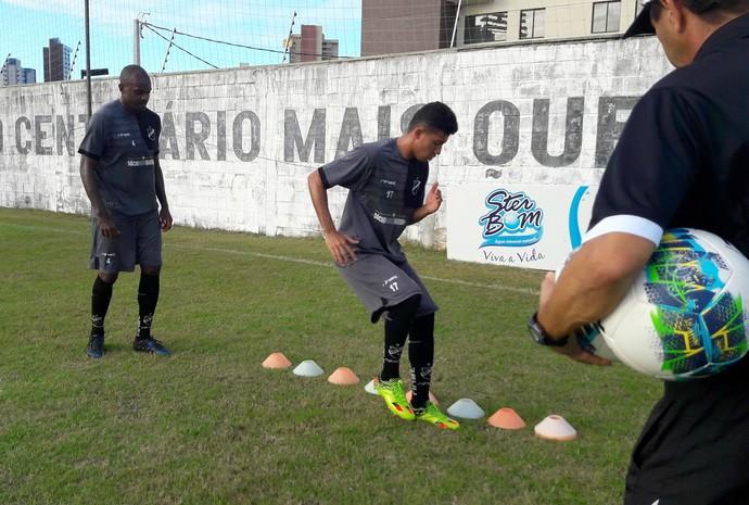 ABC - Léo Fortunato - Chiclete (Foto: Assessoria de Comunicação/ABC FC)