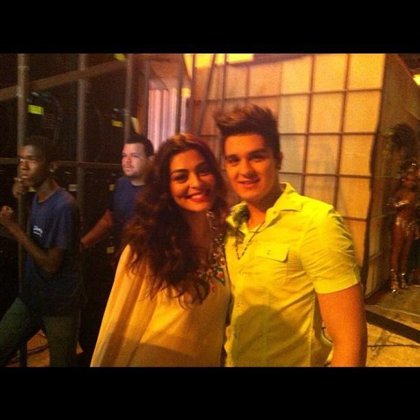 Juliana Paes e Luan Santana (Foto: Reprodução/Instagram)