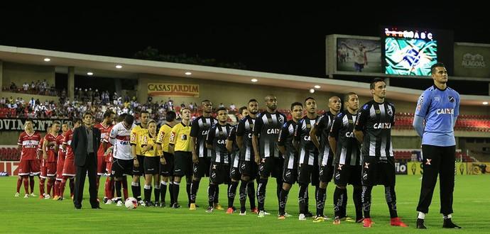 CRB x ABC, no Rei Pelé (Foto: Ailton Cruz/ Gazeta de Alagoas)