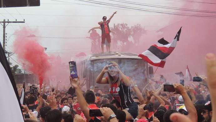 Joinville torcida (Foto: João Lucas Cardoso)