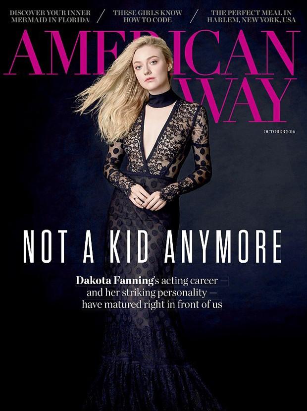 Dakota Fanning (Foto: Reprodução/AmericanWay)