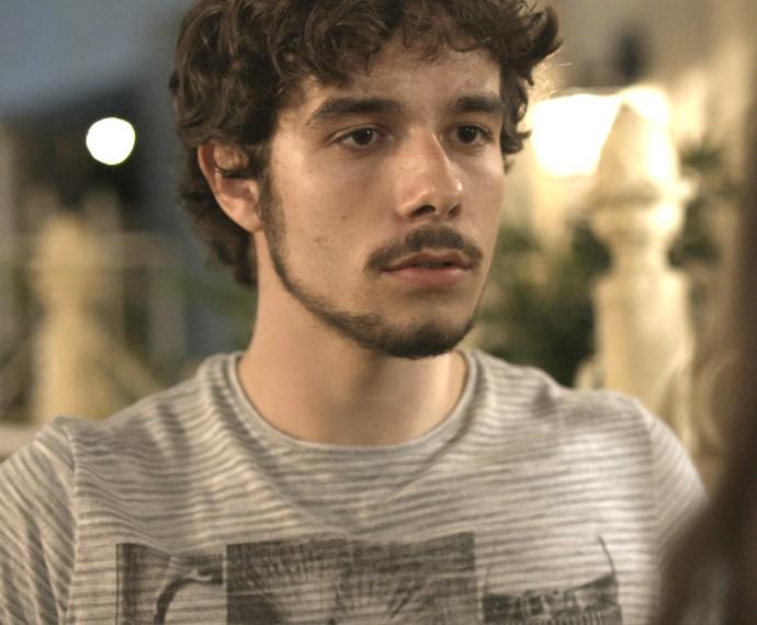 Luan não esperava que Lu ficasse sabendo da traição (Foto: TV Globo)