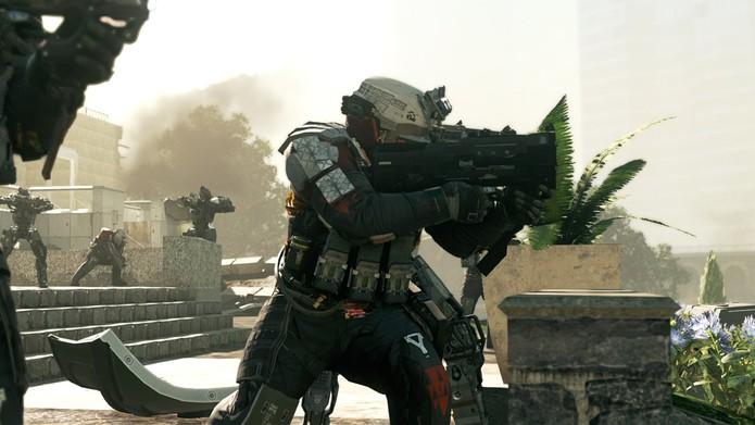 Call of Duty: Infinity Warfare leva o jogador para combates até no espaço (Foto: Divulgação/Activision) (Foto: Call of Duty: Infinity Warfare leva o jogador para combates até no espaço (Foto: Divulgação/Activision))