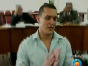 Eduardo, acusado de estupro coletivo em Queimadas, PB (Foto: Reprodução/TV Paraíba)