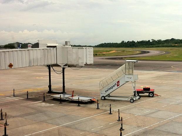 ff94eae2679 G1 - Aeroporto em Manaus ganha loja duty free e terá pontes novas na ...