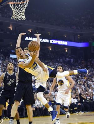 Stephen Curry Spurs x Warriors NBA (Foto: Getty)