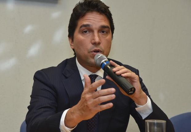 Fábio Cleto, vice-presidente de Fundos do Governo e de Loterias da Caixa (Foto: Reprodução/Facebook)