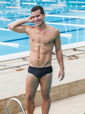 Thiago Martins será o atleta Diogo em Babilônia (Foto: Artur Meninea/Gshow)