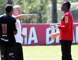 Dorival Junior, Renato e Felipe, Flamengo (Foto: Cezar Loureiro / Agência Globo)