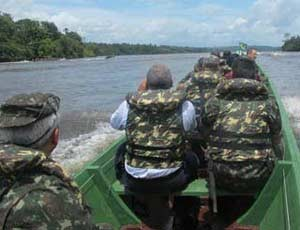 exercito_barcos_especial_300p (Foto: Tahiane Stochero/G1)