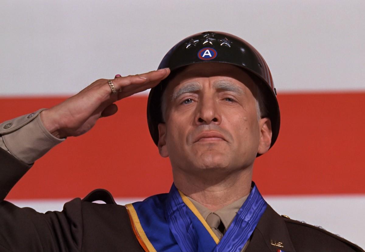 George C. Scott em 'Patton - Rebelde ou Herói?' (1970) (Foto: Reprodução)