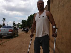 Rondônia - Luís Pinto tem 52 anos quer cursar serviços sociais (Foto: Marcos Paulo/G1)