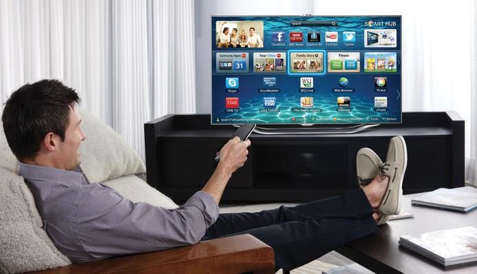 SmartTV-Samsung-home (Foto: Divulgação/Samsung)