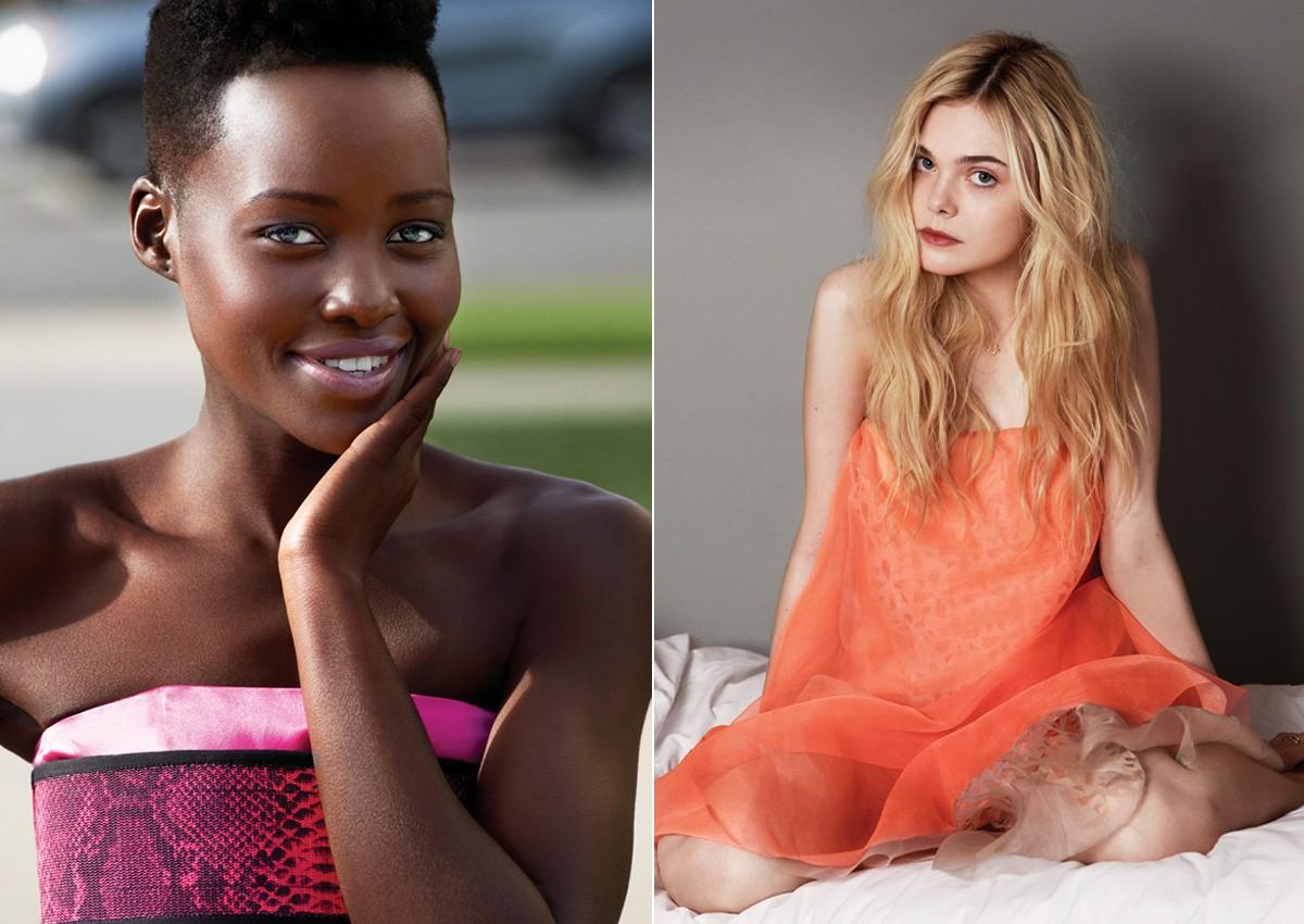 Lupita Nyong'o, Elle Fanning e mais atrizes em ascenção são as eleitas da Marie Claire norte-americana, que fez cinco capas diferentes para maio