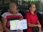 População faz fila em delegacia para denunciar suposta fraude bancária