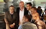 Homenagem aos jogadores que conquistaram a primeira Libertadores do clube