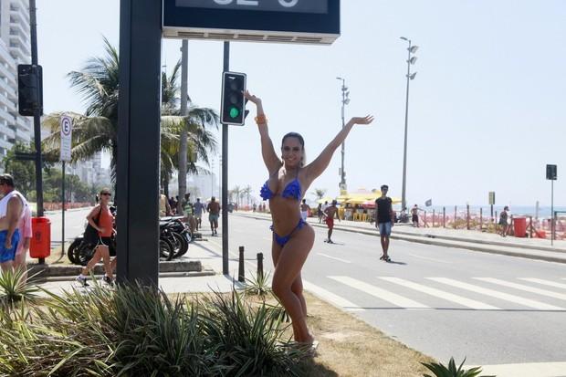 Mulher Melao - Toplessaço (Foto: Isac Luz/EGO)