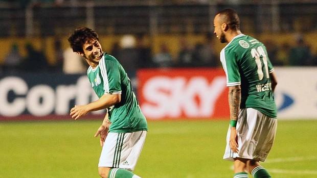 Valdivia Wesley Palmeiras (Foto: Marcos Ribolli)