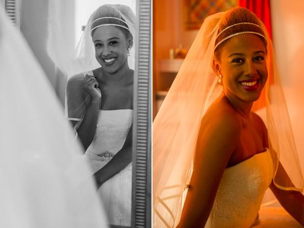 Tilde noiva  (Foto: Cynthia Salles/GShow)