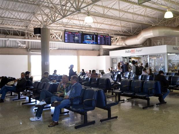 Aeroporto Leite Lopes recebeu 446 mil passageiros nos cinco primeiros meses de 2013 (Foto: Adriano Oliveira/G1)