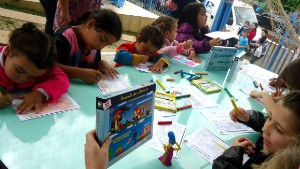 Sábado promete ser de muita diversão para as crianças (Foto: Luis Lopes/RBS TV)