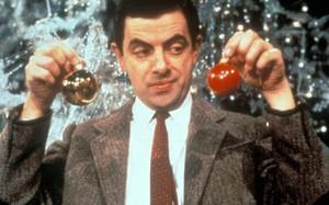 Mr. Bean compra objetos de decoração para o Natal