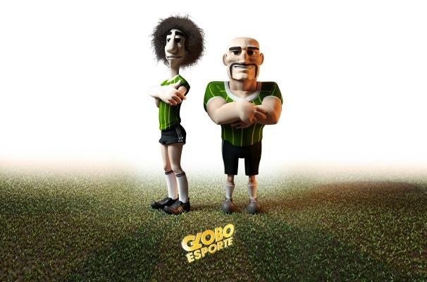 Costela e Bergamota vão reforçar a equipe do Globo Esporte RS (Foto: Reprodução/RBS TV)