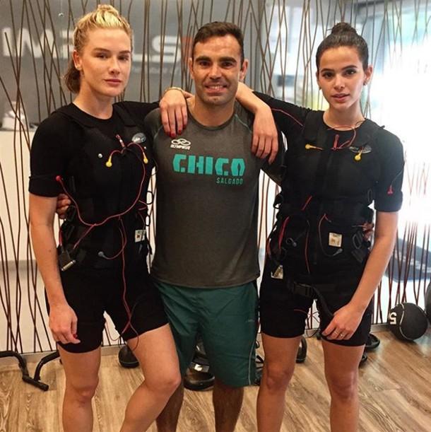 Fiorella Mattheis, Chico Salgado e Bruna Marquezine (Foto: Reprodução/Instagram)