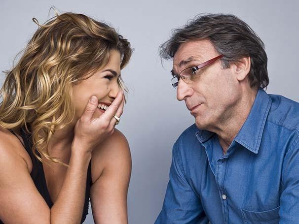 Priscila Fantin e Herson Capri dividem os palcos em 'A Entrevista' (Foto: Caio Gallucci)