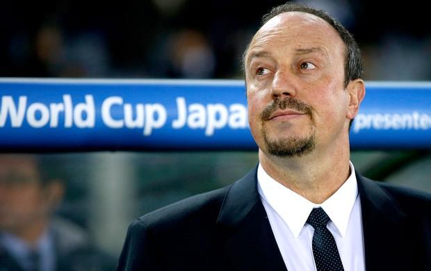 Rafael Benitez na partida do Chelsea no Mundial (Foto: Reuters)