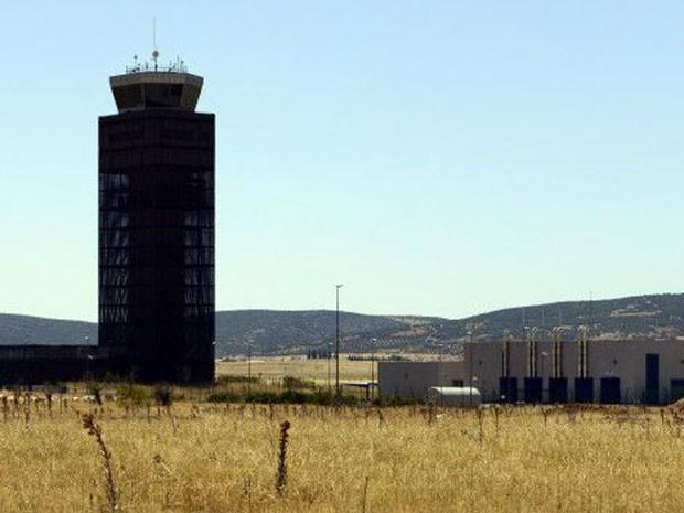 O aeroporto de Ciudad Real, na Espanha, custou US$ 500 milhões e acabou arrematado em leilão por menos de US$ 11 mil.  (Foto: Getty)
