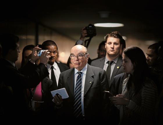 O deputado Bonifácio Andrada (PSDB) na Câmara (Foto:  DIDA SAMPAIO/ESTADÃO CONTEÚDO)