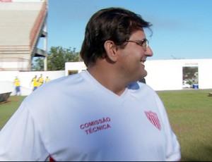 Guto Ferreira, técnico do Mogi Mirim (Foto: Reprodução / EPTV)