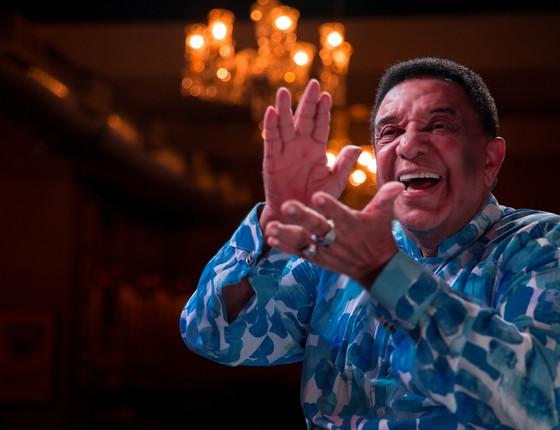 Para Agnaldo Timóteo, Cauby Peixoto foi o mais completo artista brasileiro de todos os tempos  (Foto: Murilo Alvesso)