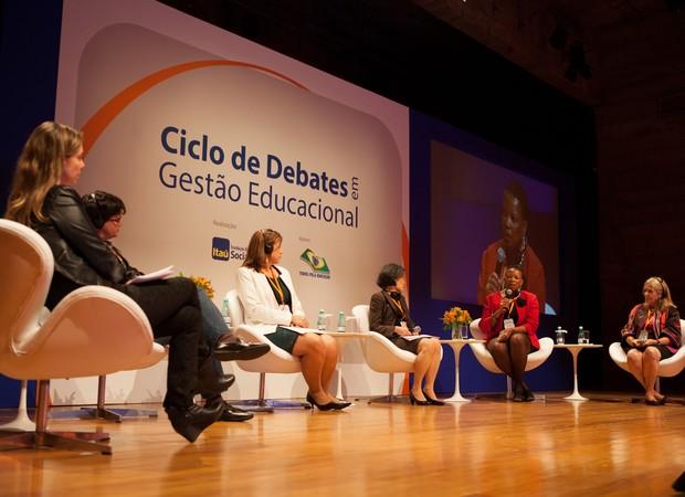 Evento Fundação Itaú Social e Todos pela Educação (Foto: Sergio Carvalho)
