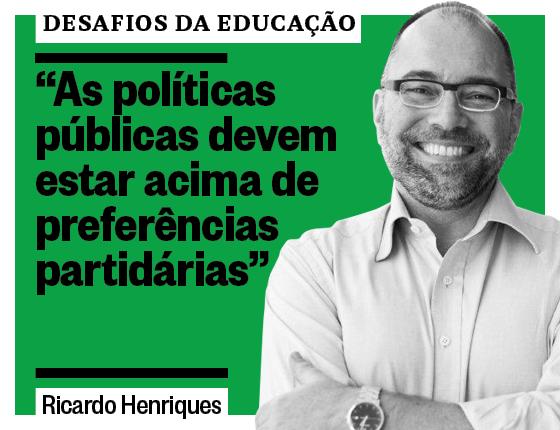Ricardo Henriques, do Instituto Unibanco (Foto: Divulgação)