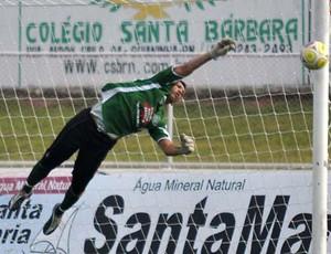 Goleiro Messi está de volta ao Palmeira de Goianinha (Foto: Frankie Marcone)