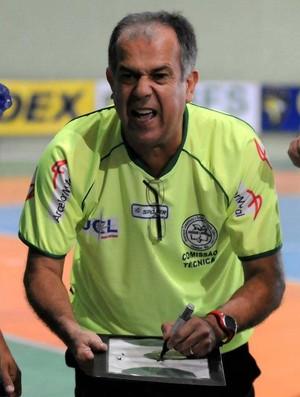 Adail Sampaio é o técnico do Jardim Limoeiro no Capixaba de futsal (Foto: Divulgação/Jardim Limoeiro)