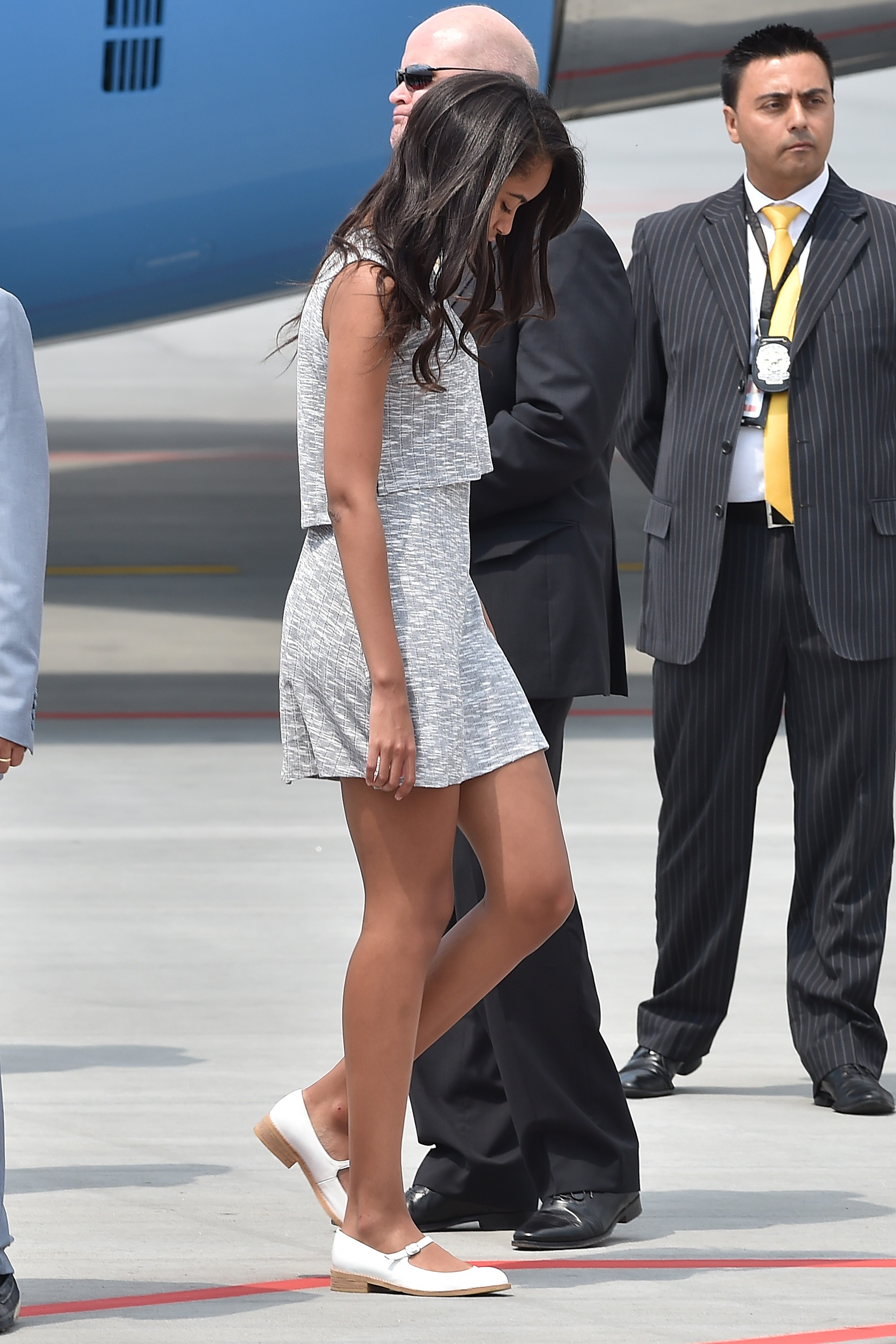 sasha-obama-shorts