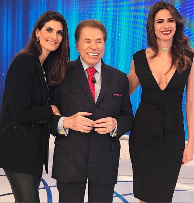 Isabella Fiorentino, Silvio Santos e Luciana Gimenez (Foto: Reprodução/Instagram)