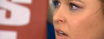 Ronda: Minha questão  com Bethe é pessoal. Vou envergonhá-la em casa (Reprodução TV Globo)