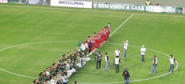 América-MG x Argentinos Juniors novo estádio Independência (Foto: Lucas Catta Prêta / GLOBOESPORTE.COM)