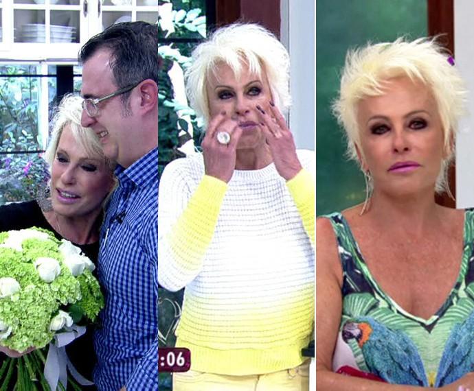 Relembre três momentos em que Ana Maria Braga não conteve a emoção (Foto: TV Globo)