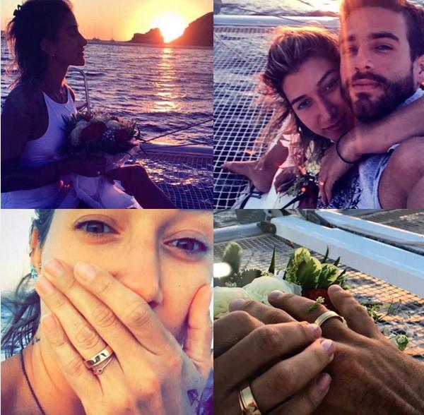 Gabriela foi pedida em casamento por Erasmo (Foto: Reprodução/Instagram)
