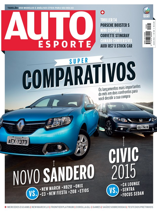 Revista Autoesporte de julho (Foto: Divulgação)