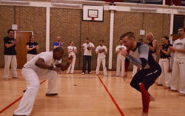 McGregor en capoeira