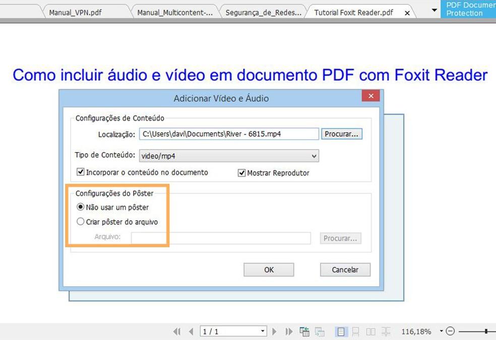 Adicione uma imagem estática para ilustrar o local do vídeo  (Foto: Reprodução/Davi de Lima)