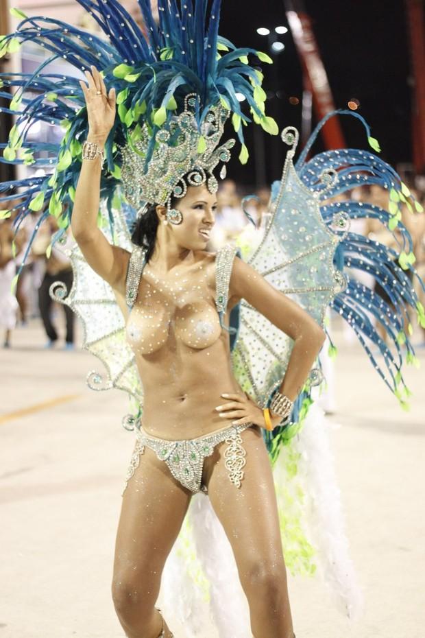 ARIADNA Unidos da Vila Santa Tereza (Foto: Marcos Ferreira/Fotorio News)