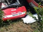 Lavrador morre prensado por trator na zona rural de Barbacena