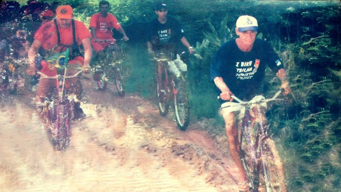 Paulinho, ciclista de 65 anos de Guajará-Mirim (Foto: Paulo Dias/ Arquivo pessoal)